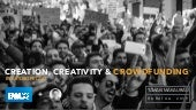 Creation, Creativity & Crowdfunding   BLAT FORUM 30 MAY 2019