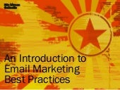 An Introduction to Email Marketing Best Practices