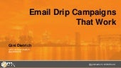Email Drip Campaigns that Work