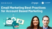 [Webinar] Email Marketing Best Practices for Account Based Marketing