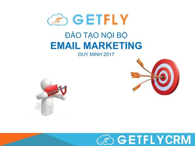 Email Marketing - Đào tạo nội bộ GetFly