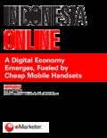 E marketer indonesia_online-a_digital_economy_emerges_fueled_by_cheap_mobile_handsets