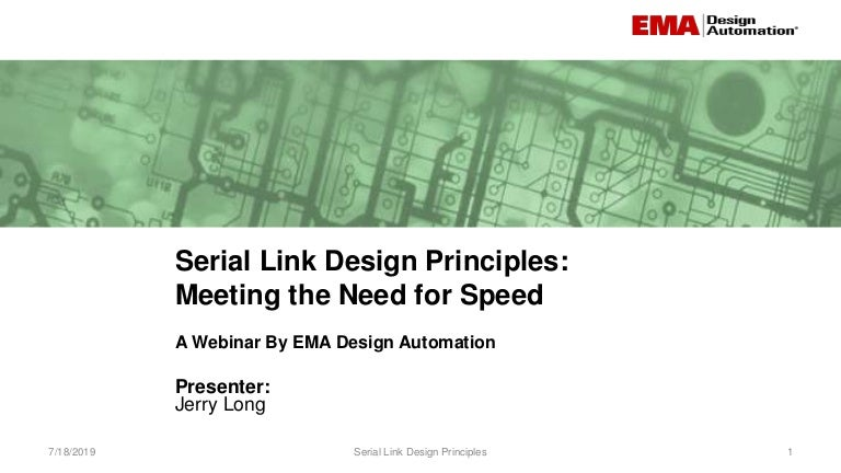 Serial Link Design Meeting The Need For Speed,University Of Cincinnati College Of Design Architecture Art And Planning
