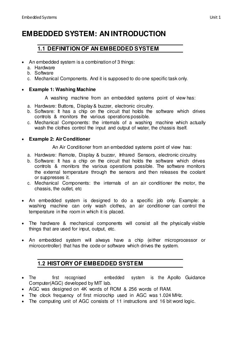 Embedded System Automated Circuit Design Case Study Lista