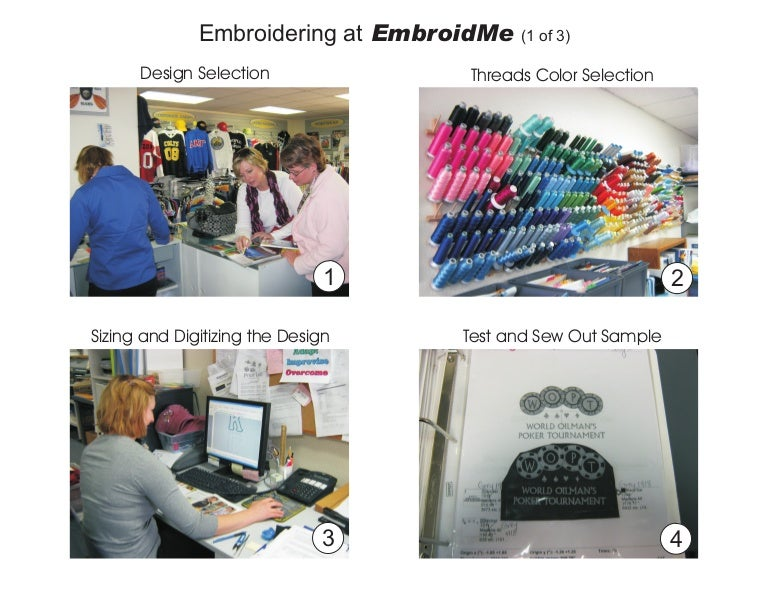 4ee5ceb53 Embroidery Process