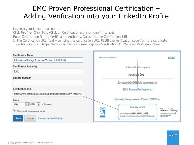 Use Your Certification To Boost Your Linkedin Profile