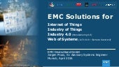 EMC Solutions for the Internet of Things and Industrie 4.0 - Platforms (EN) <<< OUT OF DATE - NEW VERSION AVAILABLE >>>