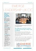 Emerge Leadership UK and Ghana newsletter June 2014
