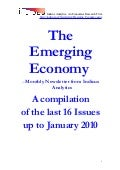 Emerging Economy - Indicus Analytics - A compilation