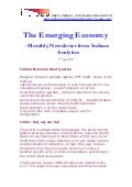 Emerging Economy July 2009 Indicus Analytics