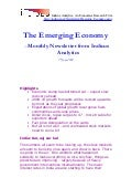 Emerging Economy June 2009 Indicus Analytics