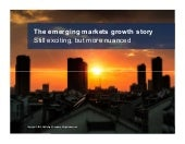 The emerging markets growth story