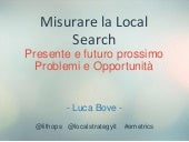 Le metriche della Local Search