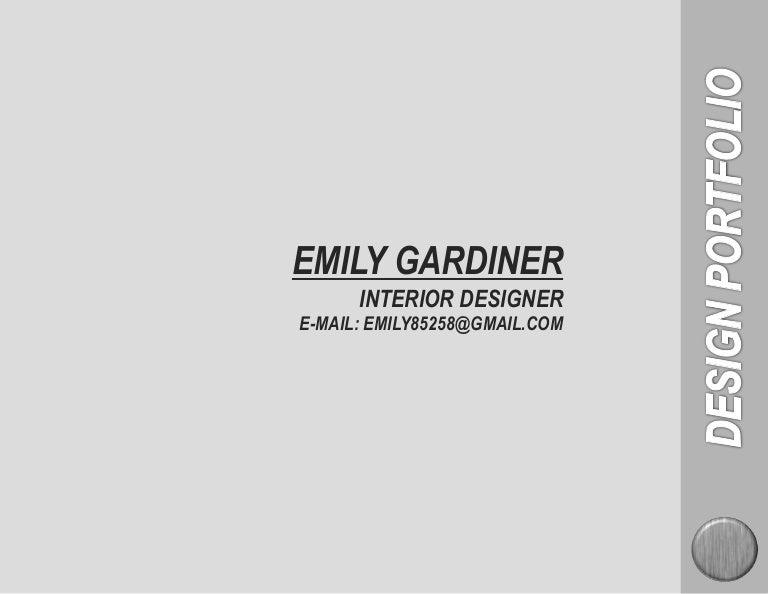 Emily Gardiner Interior Design Portfolio