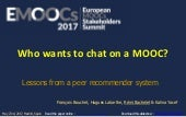 Emoocs2017   who wants to chat on a mooc v1.2