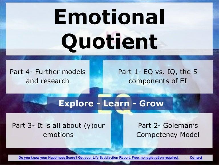 Emotional quotient ppt