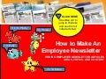 How to Make an Employee Newsletter - Creating Employee Newsletters Made Easy