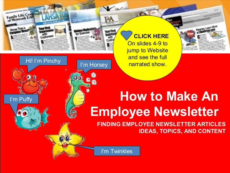 how to make an employee newsletter creating employee newsletters ma