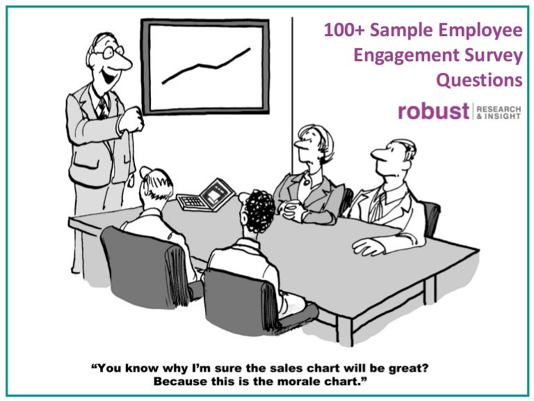 Sample Employee Engagement Survey Questions