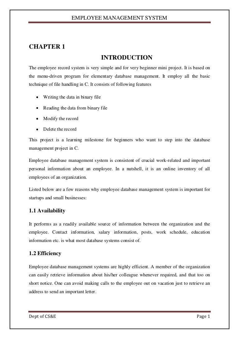 Employee Management System1