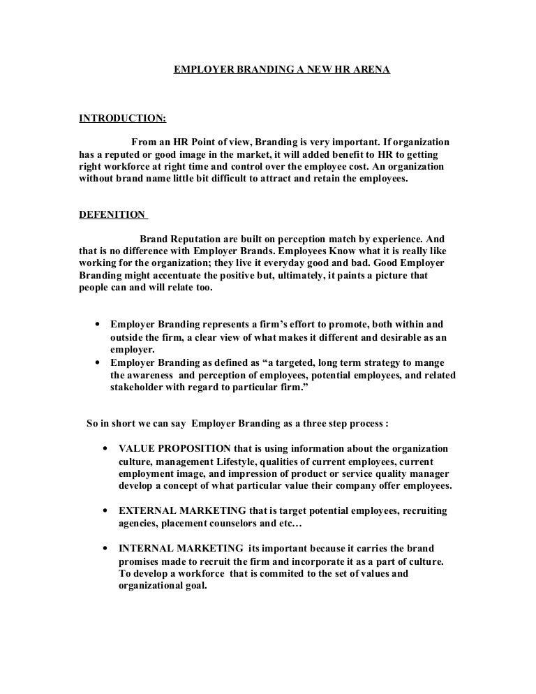 employer branding thesis themen