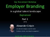 Employer branding evolution workshop overview part 1 final  2016