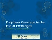 Employer coverage and the era of ex...