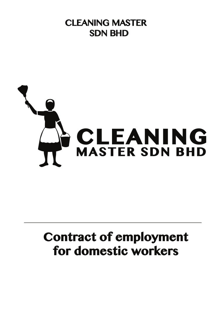 Employment contact cleaning master