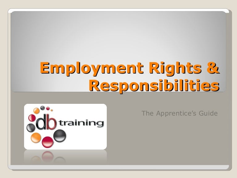 Ppt roles, rights and responsibilities under the occupational.
