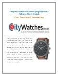 Emporio Armani Chronograph Quartz AR1919 Mens Watch