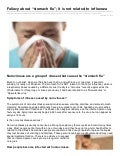 Empowernetwork.com fallacy about-stomach_flu_it_is_not_related_to_influenza
