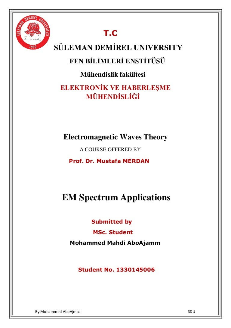 Em Spectrum Applications Electromagnetic Wave Theory Radio Waves Diagram Showing Flow Of