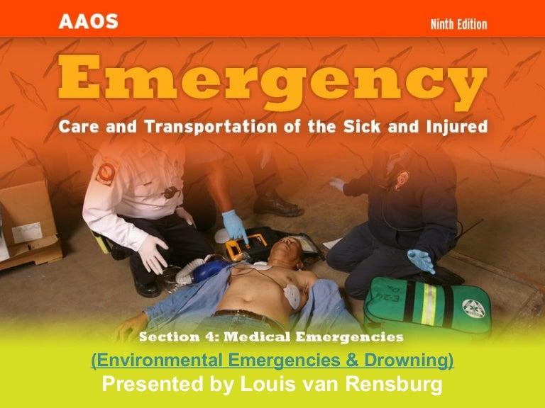 Environmental Emergencies & Drowning