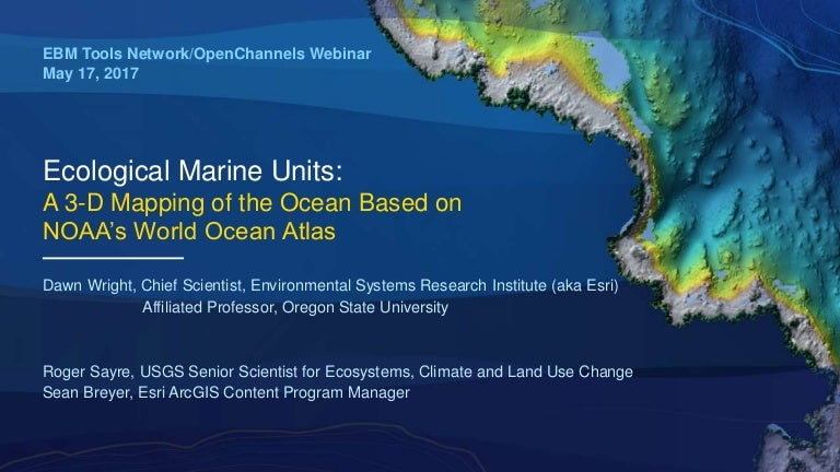 Ecological Marine Units: A 3-D Mapping of the Ocean Based on ...
