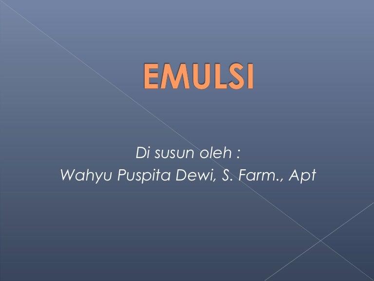 Emulsi 7