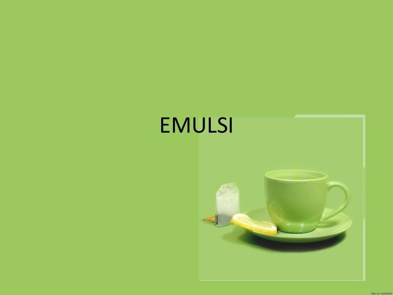 Emulsi Jadi