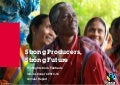 Strong Producers, Strong Future: Fairtrade Annual Report 2013-14
