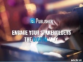 Engage Your Stakeholders the Digital Way - Enablon Publisher