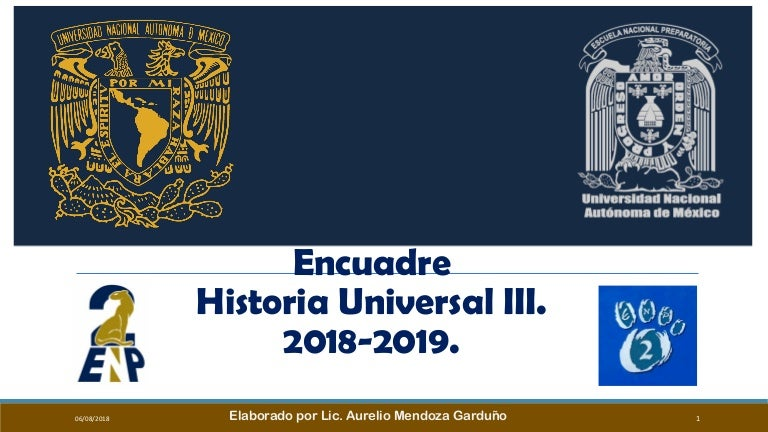 Encuadre huiii 2018 2019