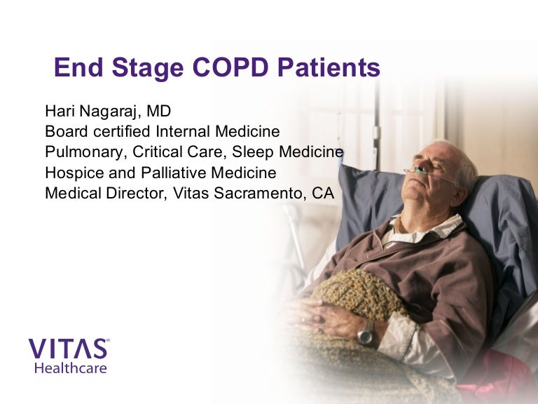 end stage copd meeting patients challenges