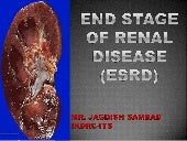 End stage of renal disease