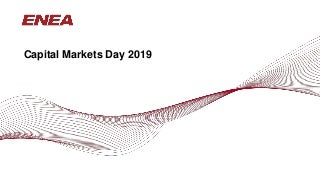 Enea Capital Markets Day 2019