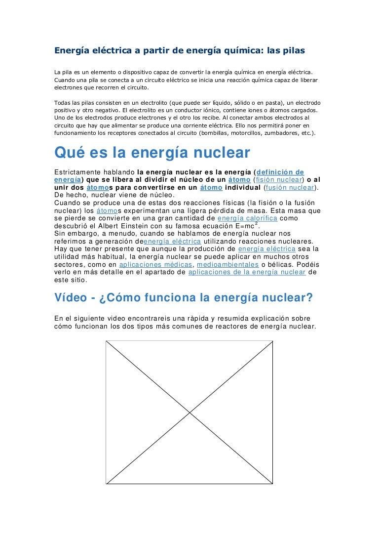Circuito Que Recorre La Electricidad Desde Su Generación Hasta Su Consumo : Compilacion energía eléctrica a partir de energía química
