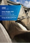 Impact of Budget 2015 on Energy and Natural Resources sector