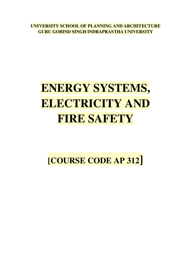 Energy Systems Electricity And Fire Safety Flame Detector Photocell Wiring Diagram