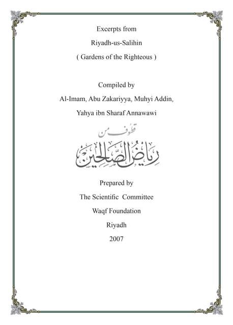 En Excerpts from_Riyadh_us-Saliheen