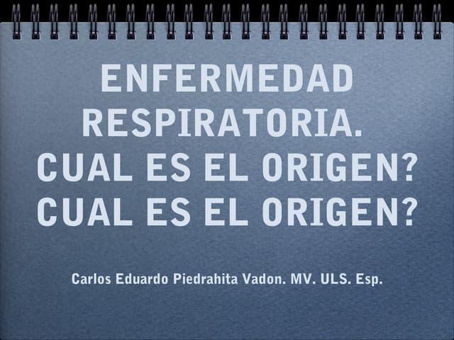 Enf. respiratoria