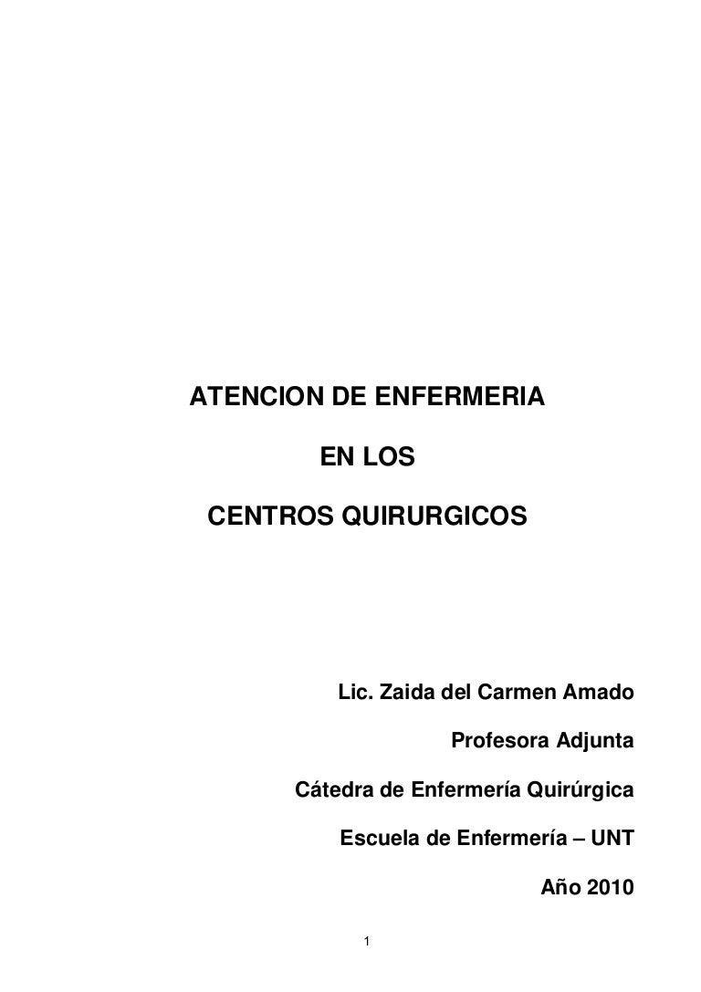 Circuito Quirurgico : Enfermeria quirurgica modulo 04