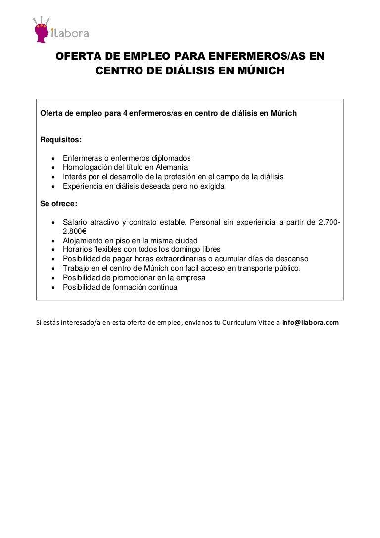 Excelente Curriculum Vitae Para Una Enfermera Sin Experiencia ...