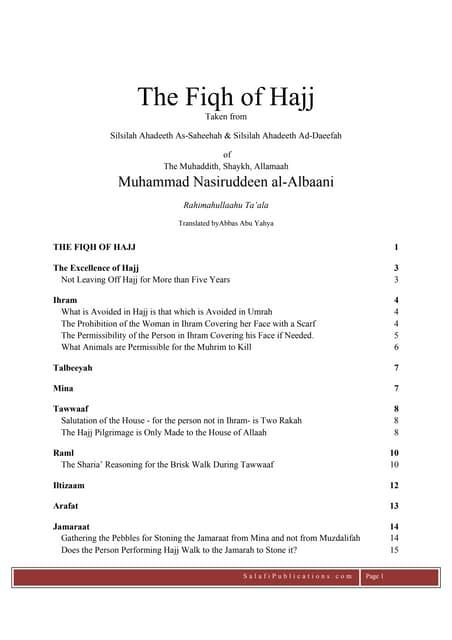 En Fiqh of_Hajj_Albaani